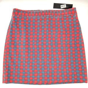 Marc by Marc Jacobs Molly Check Skirt Sz 8 NWT